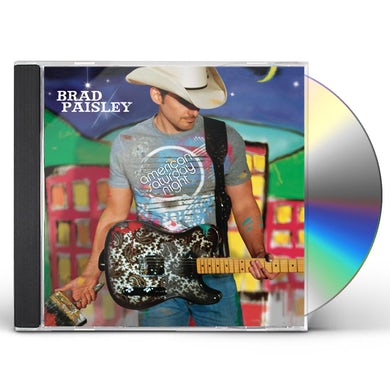 Brad Paisley AMERICAN SATURDAY NIGHT CD