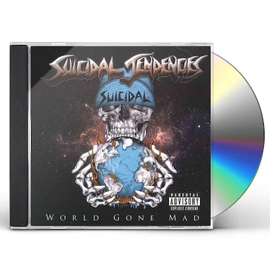 Suicidal Tendencies WORLD GONE MAD CD