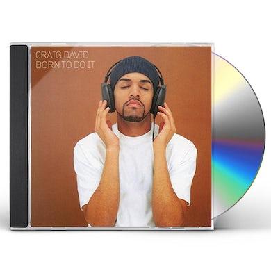 Craig David BORN TO DO IT CD