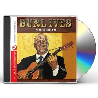 Burl Ives IN MEMORIAM CD