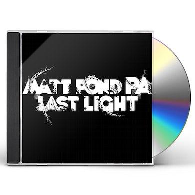 Matt Pond PA LAST LIGHT CD