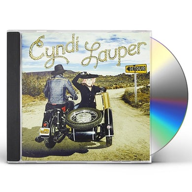 Cyndi Lauper DETOUR (JEWEL CASE VERSION) CD