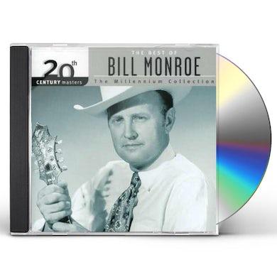 Bill Monroe 20TH CENTURY MASTERS CD