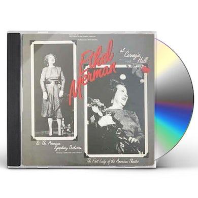 Ethel Merman MERMAN AT CARNEGIE HALL 1982 CD