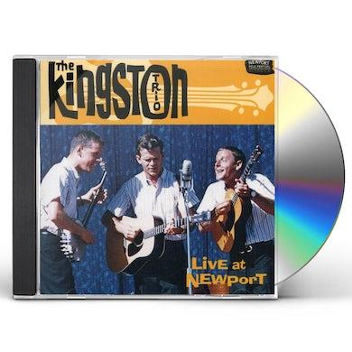Kingston Trio LIVE AT NEWPORT CD