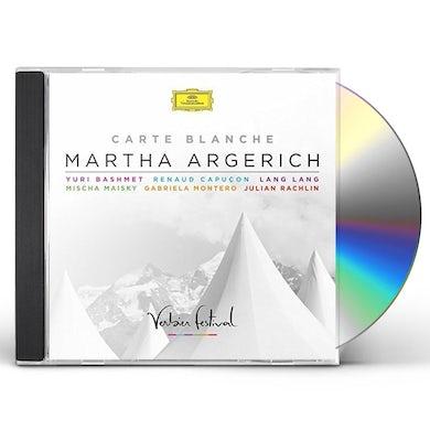 Martha Argerich CARTE BLANCHE CD