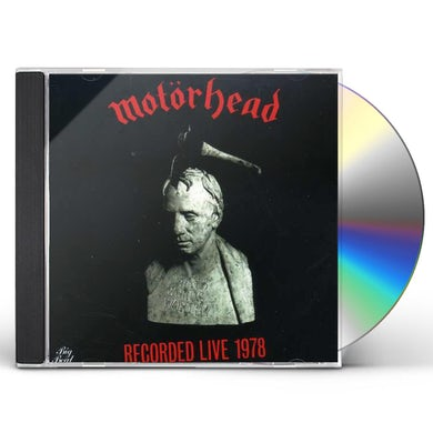 Motorhead WHAT'S WORDS WORTH - RECORDED LIVE 1978 CD