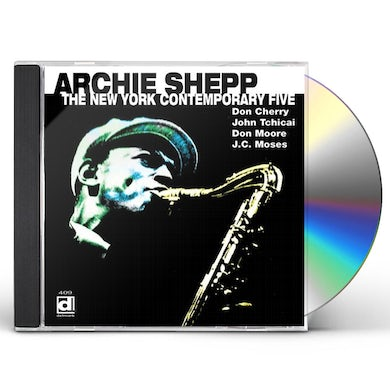 Archie Shepp NEW YORK CONTEMPORARY FIVE CD