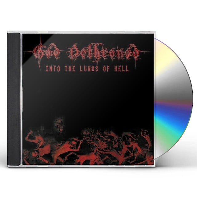 God Dethroned INTO THE LUNGS OF HELL CD