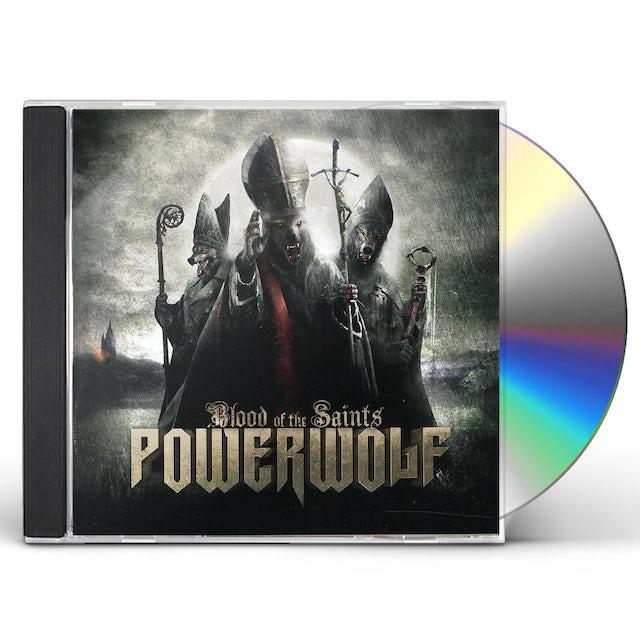Powerwolf BLOOD OF THE SAINTS CD