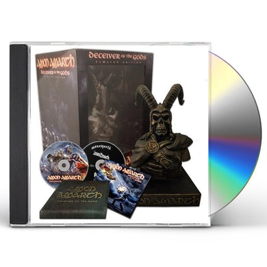 Amon Amarth DECEIVER OF THE GODS (SUPER DELUXE BOX) CD