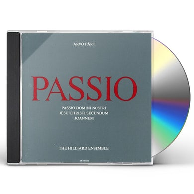 Arvo Part PASSIO CD
