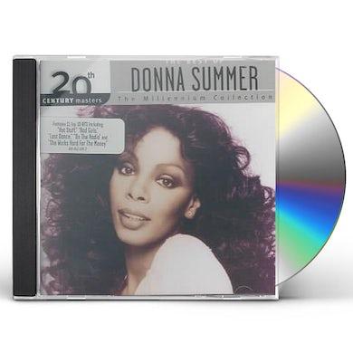 Donna Summer 20TH CENTURY MASTERS: MILLENNIUM COLLECTION CD