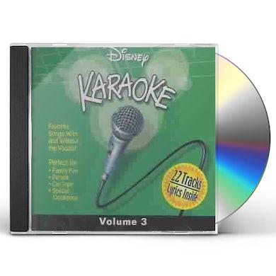 Disney Karaoke, Volume 3 (Jewel) CD