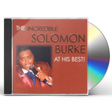 SOLOMON BURKE AT HIS BEST CD