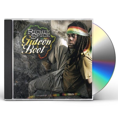 Richie Spice GIDEON BOOT CD