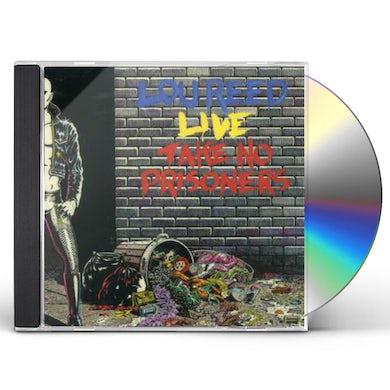 Lou Reed TAKE NO PRISONERS CD