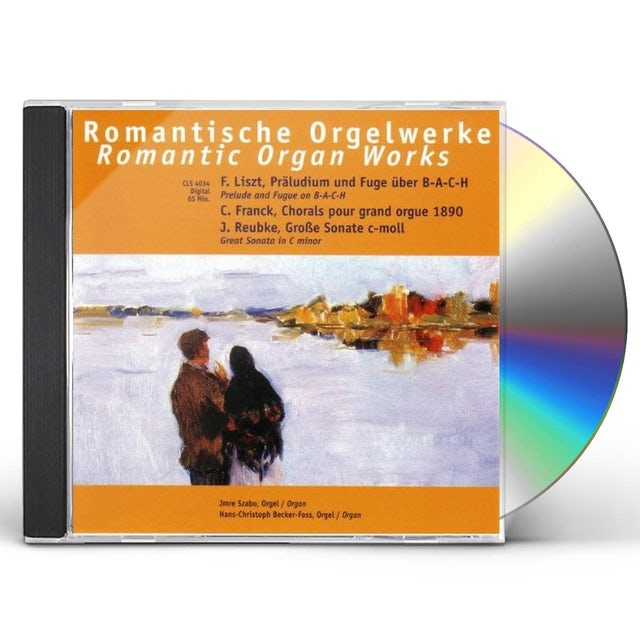 Liszt ROMANTIC ORGAN-WORKS CD
