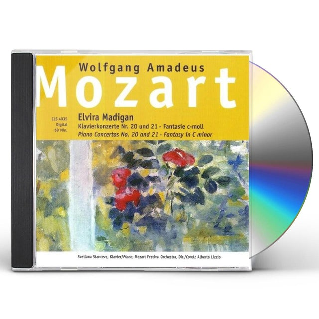 Mozart ELVIRA MADIGAN CD