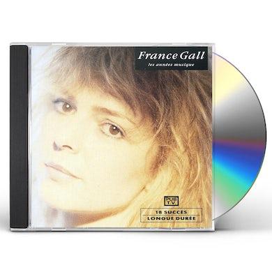 France Gall LES ANNEES MUSIQUE CD