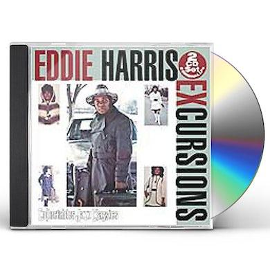 Eddie Harris EXCURSIONS CD