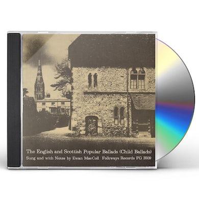 Ewan MacColl ENGLISH AND SCOTTISH POPULAR BALLADS: 1 - CHILD CD