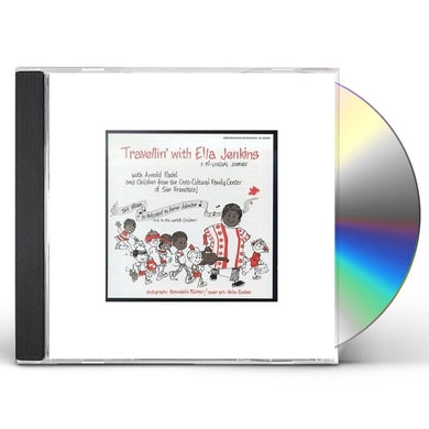 Ella Jenkins TRAVELLIN BILINGUAL JOURNEY CD