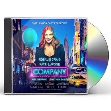 COMPANY (2018 LONDON CAST RECORDING) CD