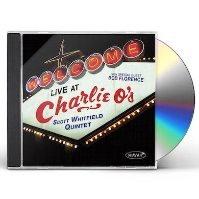 Scott Whitfield LIVE AT CHARLIE O'S CD
