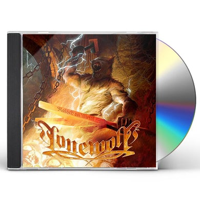 Lonewolf RAISED ON METAL CD