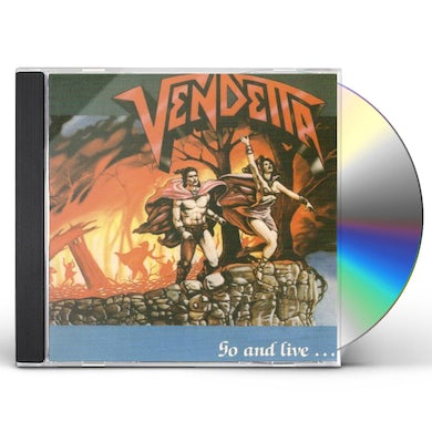 Vendetta GO & LIVE STAY & DIE CD
