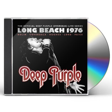 Deep Purple LIVE AT LONG BEACH ARENA 1976 CD