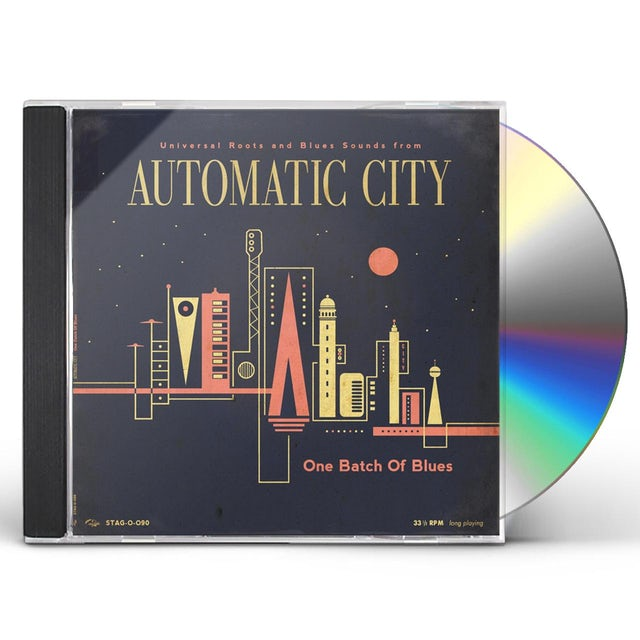 AUTOMATIC CITY ONE BATCH OF BLUES CD