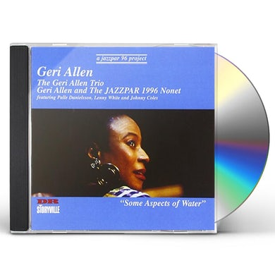 Geri Allen SOME ASPECTS OF WATER CD