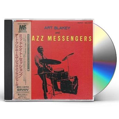 Art Blakey MIDNIGHT SESSION CD
