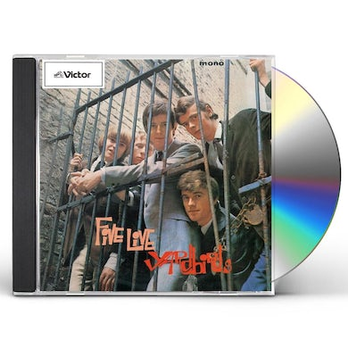 FIVE LIVE The Yardbirds CD