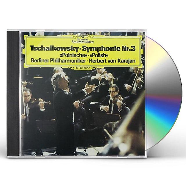 Herbert Von Karajan TCHAIKOVSKY: SYMPHONY NO.3 'POLAND' CD