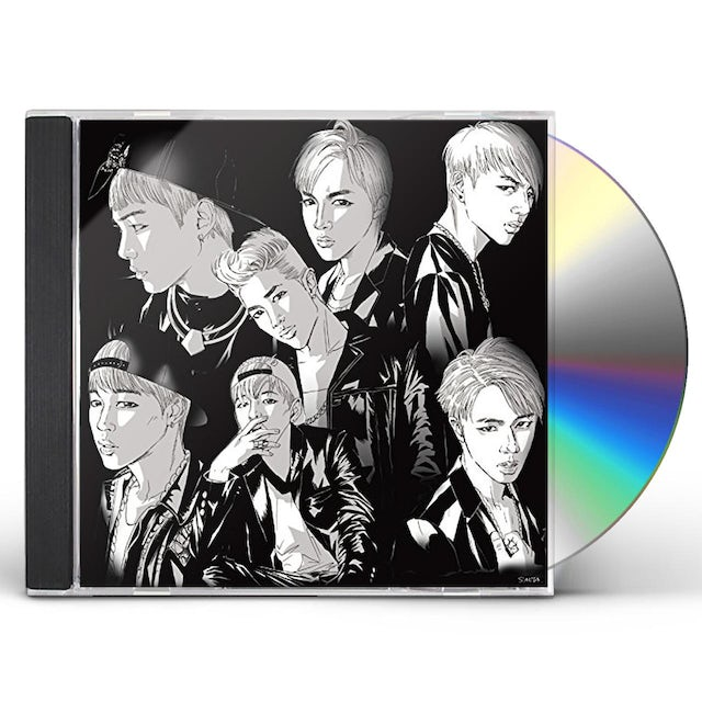 BTS DANGER (JAPANESE VERSION A) CD
