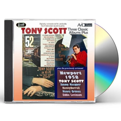 Tony Scott 52ND ST SCENE / IN HI-FI / TOUCH CD