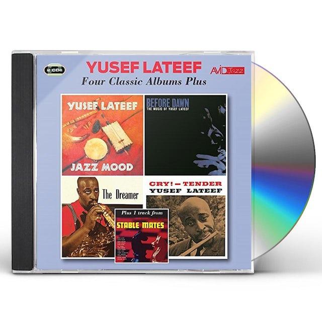 Yusef Lateef 4 CLASSIC ALBUMS PLUS CD