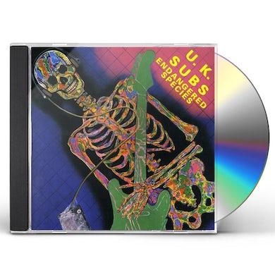 U.K. Subs ENDANGED SPECIES CD