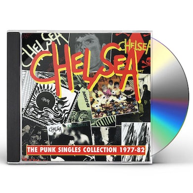 Chelsea PUNK SINGLES COLLECTION 1977-82 CD