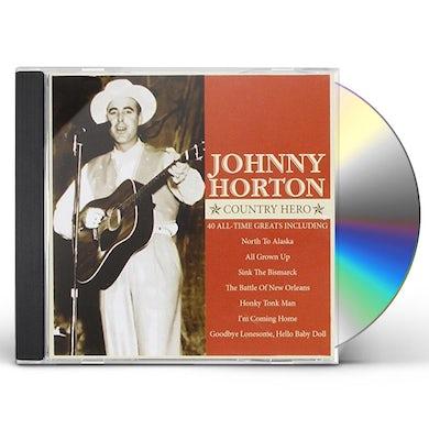 Johnny Horton COUNTRY HERO CD