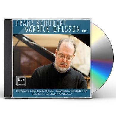 GARRICK OHLSSON PLAYS FRANZ SCHUBERT CD