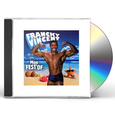 Francky Vincent MON FEST' OF CD