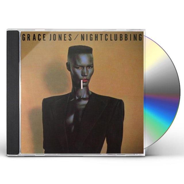Grace Jones NIGHTCLUBBING CD