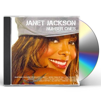 Janet Jackson ICON CD