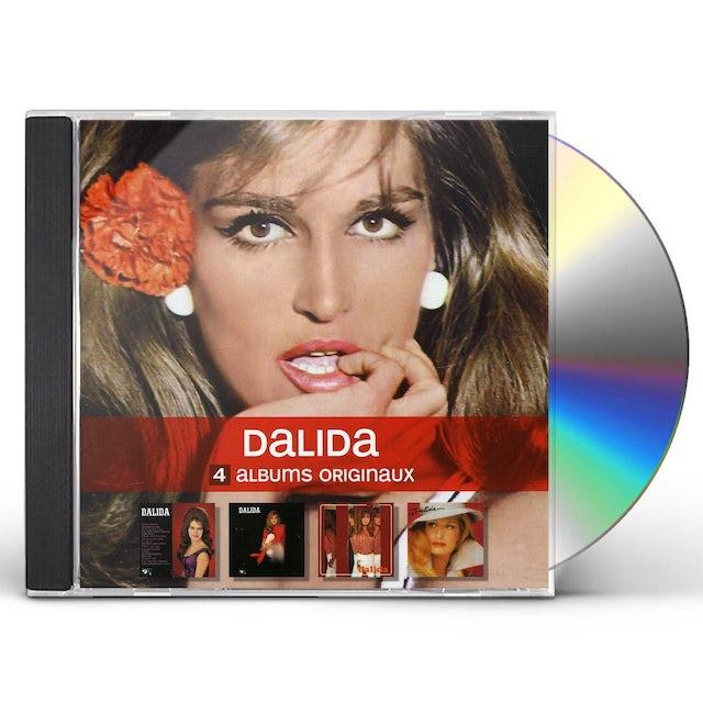 Dalida 4 ORIGINAL ALBUMS CD