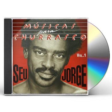Seu Jorge MUSICAS PARA CHURRASCO 1 CD