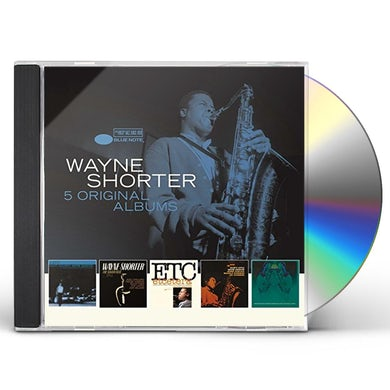 Wayne Shorter 5 ORIGINAL ALBUMS CD